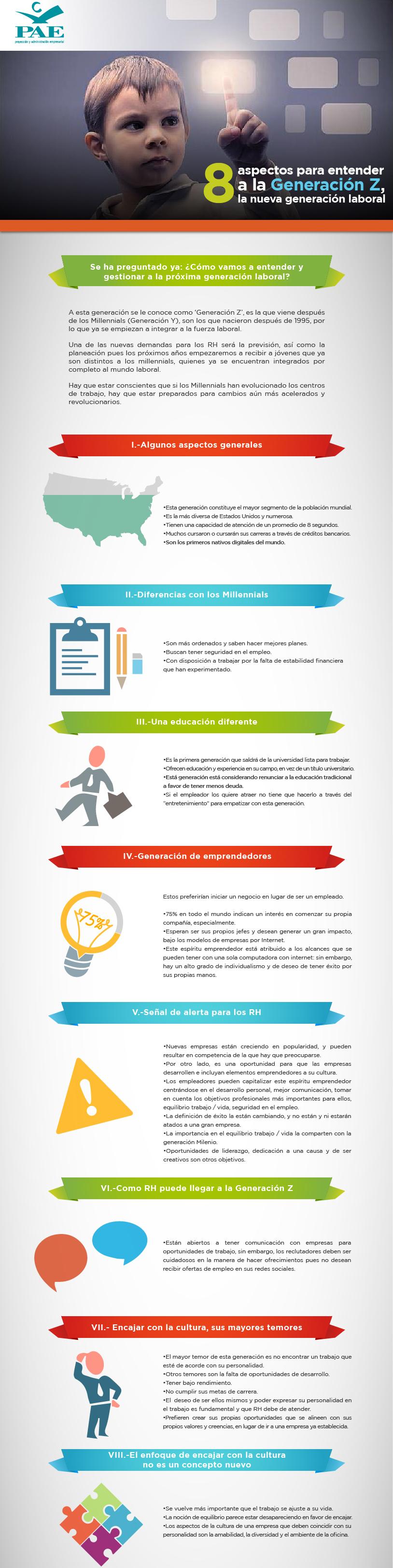 #PAEMX 8 aspectos de la nueva generación laboral