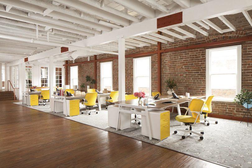 Evoluci n del dise o de las oficinas ante una econom a for Diseno oficinas industriales