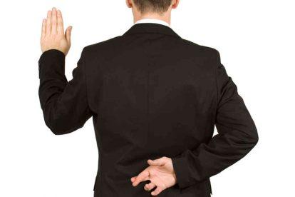 4 señales de candidatos que mienten