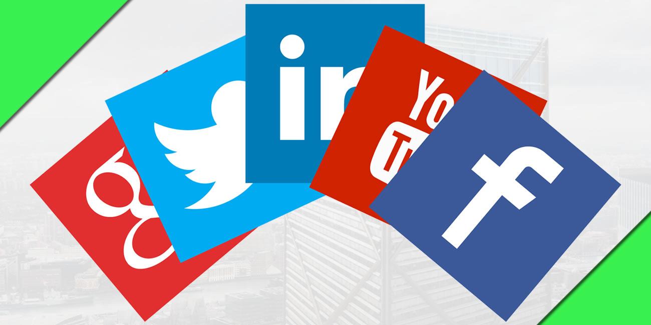11 políticas, social media