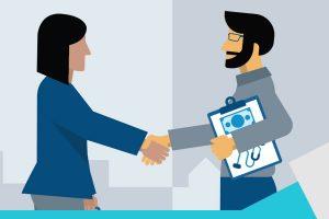 reclutador socio de negocio