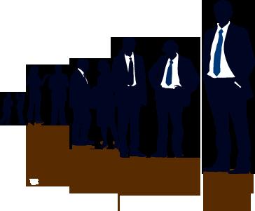 gente de negocio